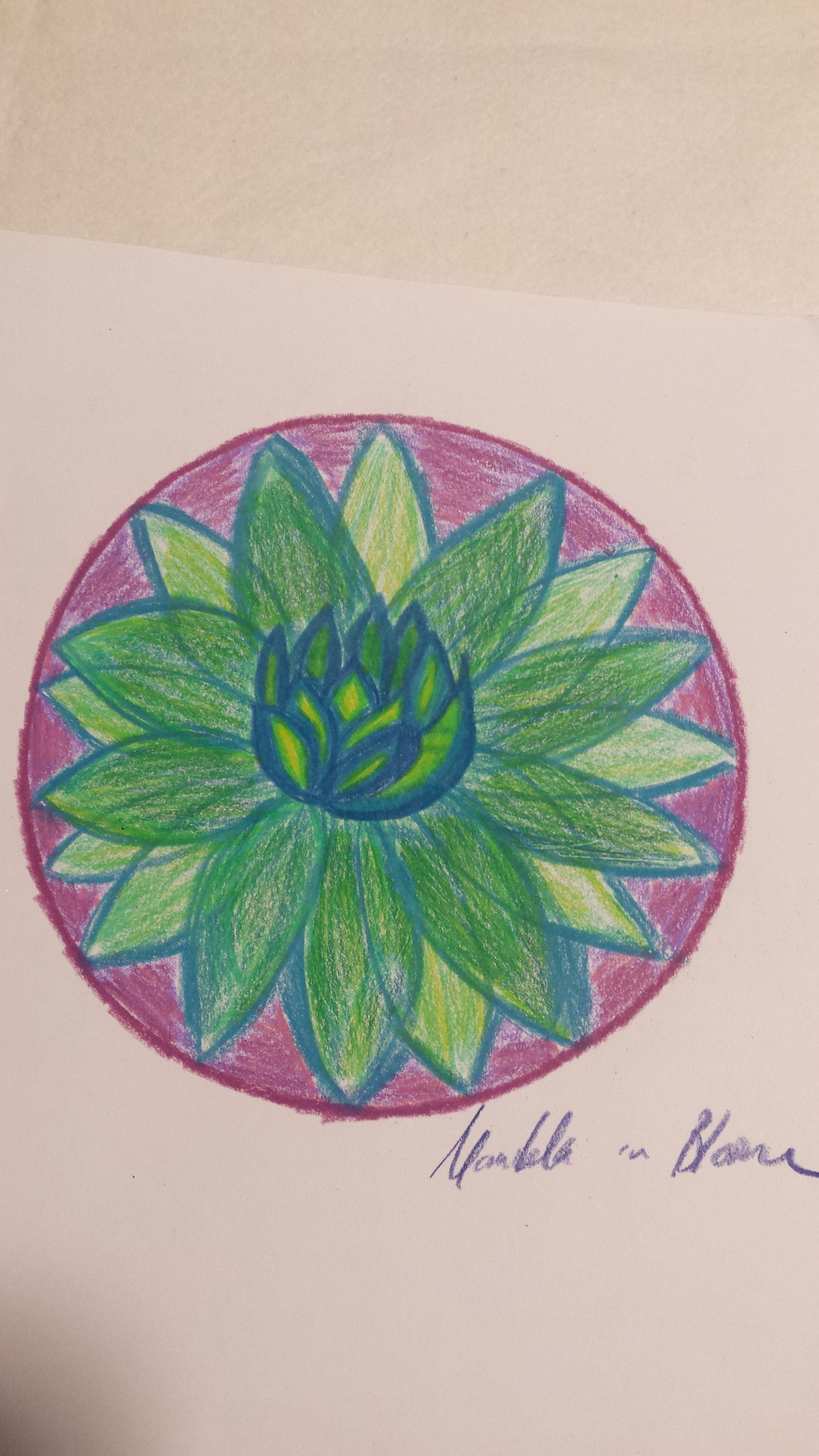 ST2 Mandala in Bloom