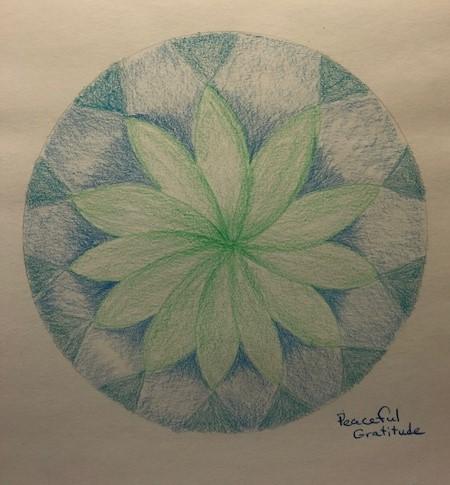mandala peaceful gratitude crop
